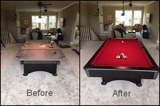 expert pool table recovering in Bremerton content img3